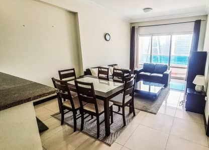 فلیٹ 1 غرفة نوم للايجار في أبراج بحيرات الجميرا، دبي - Super offer|Well maintained|Lake and Sea View
