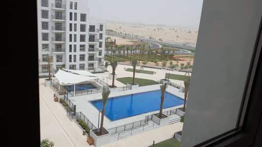 1 Bedroom Flat for Sale in Town Square, Dubai - Swimming Pool View | Beautiful On Mid floor