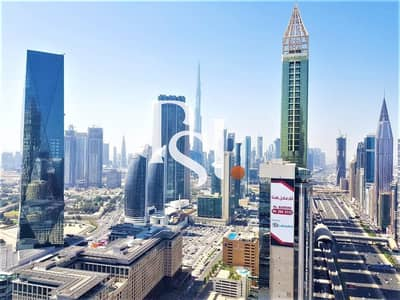 2 Bedroom Apartment for Rent in Sheikh Zayed Road, Dubai - Burj Khalifa View / Sea View / Island  Kitchen