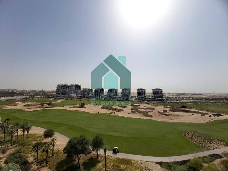 Full Golf Course Facing  I 3 Bedroom + Maids I No Commission