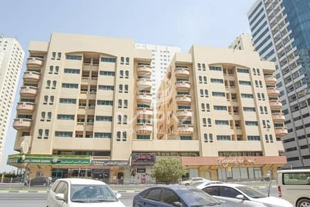فلیٹ 1 غرفة نوم للايجار في المجاز، الشارقة - 1 Month Free | Balcony | Wardobes | 6 Chqs