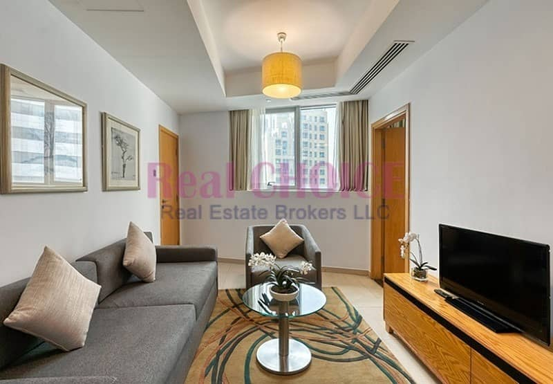 2 Prime Area | Huge 1 Bedroom | Hotel Apartment