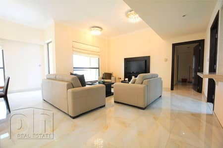 3 Bedroom Flat for Rent in Jumeirah Beach Residence (JBR), Dubai - Exclusive | Fully upgraded | Sea Views