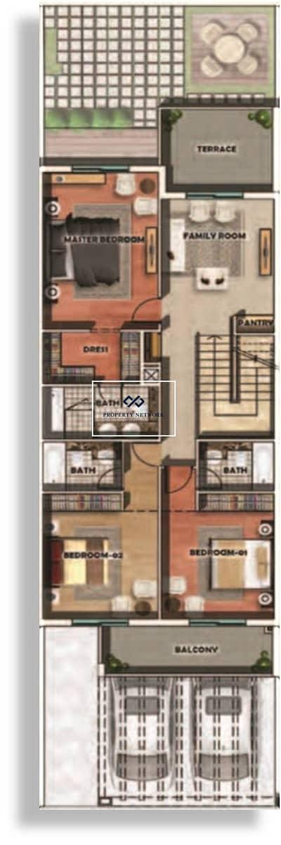 تاون هاوس 3 غرف نوم للبيع في الفرجان، دبي - The Estate by MAG-Furjan Phase -2/ Stunning Property