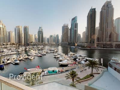 2 Bedroom Villa for Sale in Dubai Marina, Dubai - Full Marina View | 2BR Duplex Villa | Vacant Unit