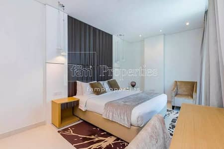 1 Bedroom Flat for Rent in Business Bay, Dubai - Amazing Furniture 1BHK on Waters Edge
