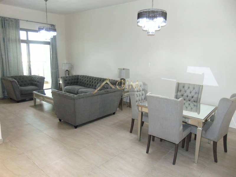 Sanitised Fully furnished 1BR in Azizi Feirouz