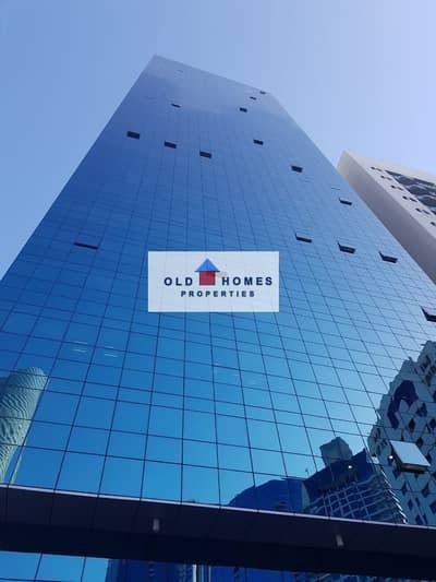 مکتب  للايجار في شارع الكورنيش، أبوظبي - For rent an office on an area of 150 meters