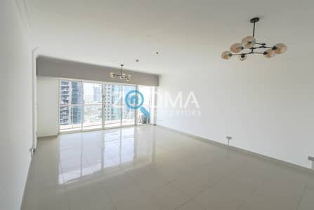 3 Bedroom Apartment for Rent in Jumeirah Lake Towers (JLT), Dubai - 3BR with Maids|High Floor | Meadows View
