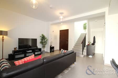 3 Bedroom Townhouse for Sale in Town Square, Dubai - Vacant On Transfer | Great Location | Type 1