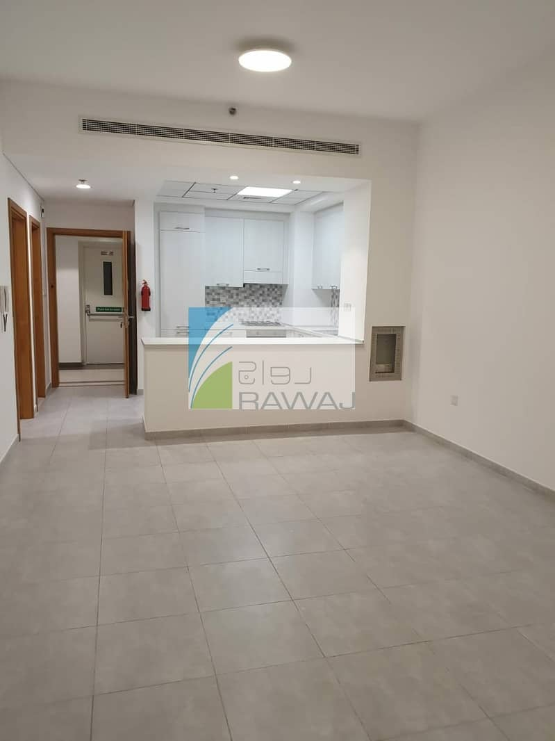 2 1 Bedroom with Balcony  + hall for rent in Sherena Residence