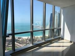شقة في أبراج الإتحاد شارع الكورنيش 3 غرف 178000 درهم - 5093194