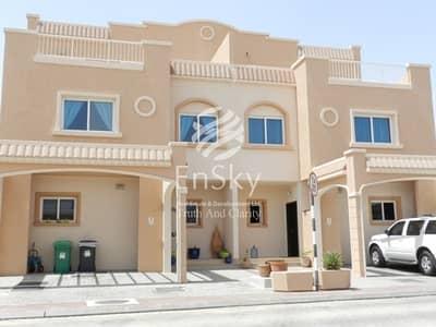فیلا 2 غرفة نوم للايجار في الريف، أبوظبي - Single Row Villa In Good Community Available Now for Move In