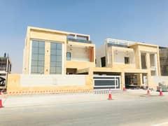 brand new villa for sale in ajman al ragaib ajman 5 master bedroom majlis hall kitchen with a carparking very special location