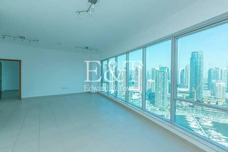 فلیٹ 2 غرفة نوم للايجار في دبي مارينا، دبي - Full Marina View | Large Layout | High Floor