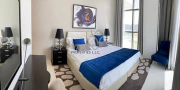 Brand New 2BR+Maid | Fully Furnished | Panoramic Golf View