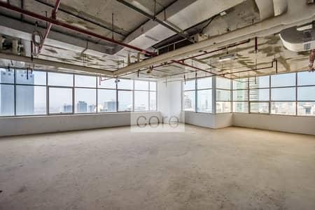 طابق تجاري  للايجار في أبراج بحيرات الجميرا، دبي - Full Floor | Shell and Core | Pay in 12 Cheques