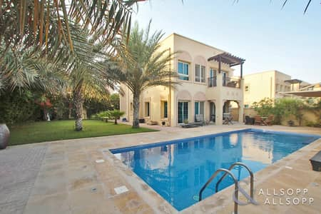2 Bedroom Villa for Rent in Jumeirah Village Triangle (JVT), Dubai - 2 Beds | Huge Private Pool | Lush Garden