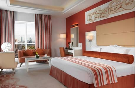 1 Bedroom Hotel Apartment for Rent in Hamdan Street, Abu Dhabi - Hot Summer Deal | Affordable Rate | All-Inclusive