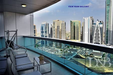 4 Bedroom Apartment for Sale in Dubai Marina, Dubai - JLT View | Fully Furnished | 2 Parking Spaces