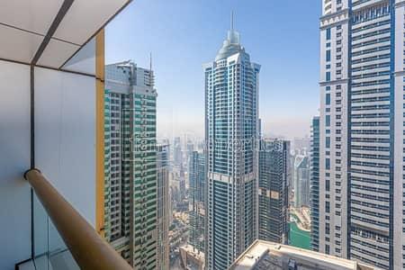 شقة 4 غرف نوم للايجار في دبي مارينا، دبي - Breathtaking Sea View   Unfurnished   Vacant Now