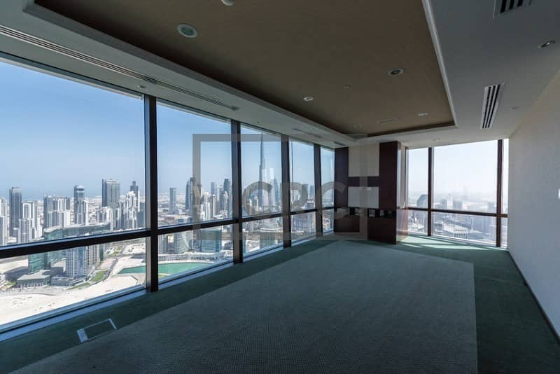 Full Floor | Amazing View | Finished & Partitioned