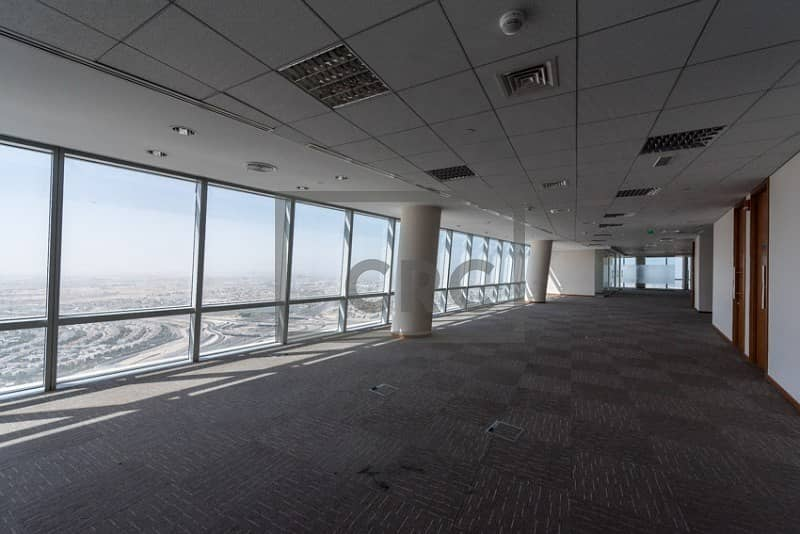 25 Full Floor | Amazing View | Finished & Partitioned