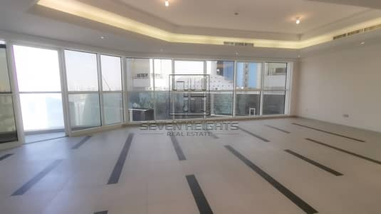 4 Bedroom Apartment for Rent in Corniche Area, Abu Dhabi - 4BR+Maid with Big Balcony |City View!