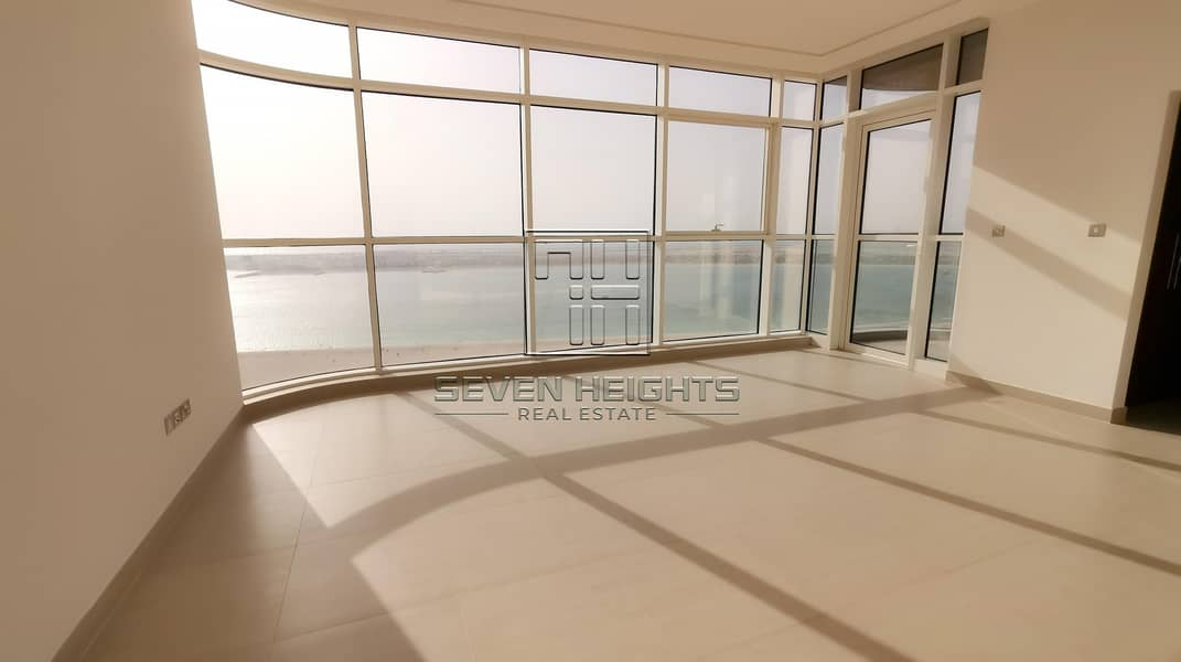 2 3BR+Maid with Large Balcony  Sea & Community View!