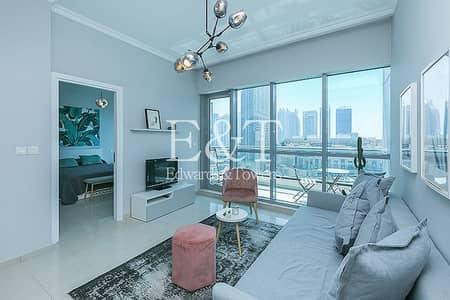 شقة 1 غرفة نوم للايجار في دبي مارينا، دبي - Full Marina|Luxury Furnished|Upgraded|Vacant