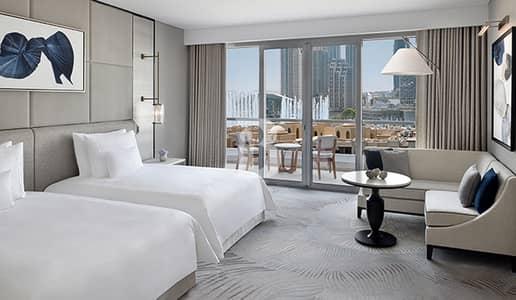2 Bedroom Hotel Apartment for Rent in Downtown Dubai, Dubai - Luxurious 2BR Burj Khalifa