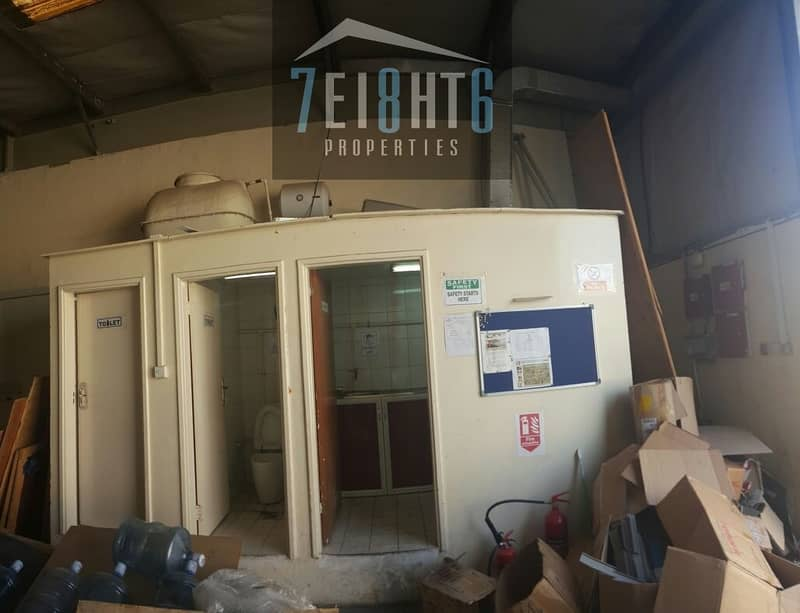 2 600 sq ft warehouse for rent in Al Quoz