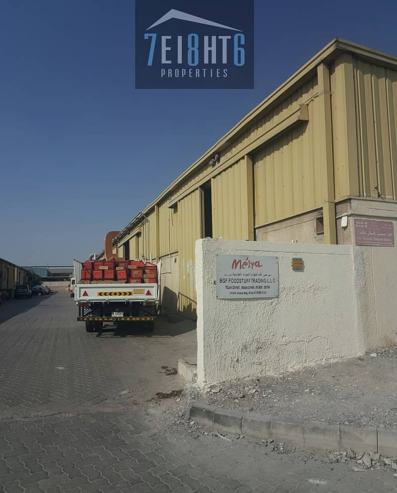 10 600 sq ft warehouse for rent in Al Quoz
