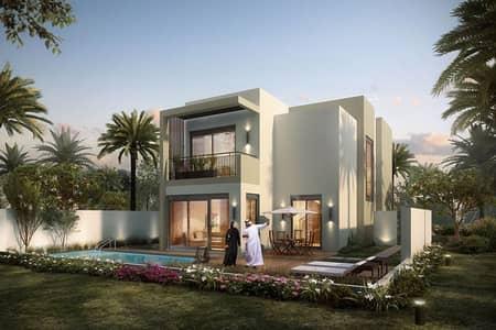 4 Bedroom Villa for Sale in Dubai South, Dubai - Villa near golf course|Resale Deal|Single row