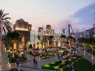 شقة 1 غرفة نوم للبيع في أم سقیم، دبي - WAKE UP NEXT TO  BURJ AL ARAB AND OWN YOUR UNIT NOW  AT MJL