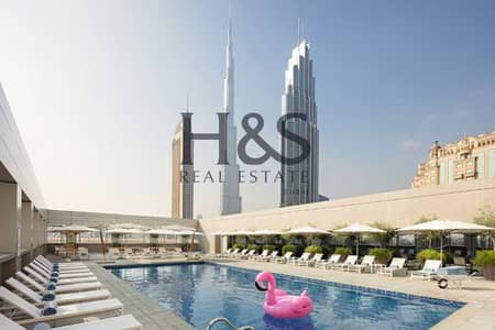 Hotel Apartment for Sale in Jumeirah, Dubai - Sophistacated  Limited Offer I Luxury  Hotel Apt I City Walk
