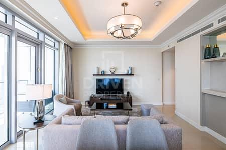 فلیٹ 2 غرفة نوم للايجار في وسط مدينة دبي، دبي - Amazing View | High floor | 5 Star Hotel