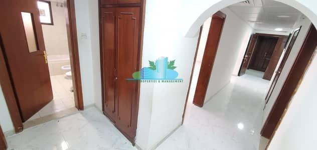 شقة 2 غرفة نوم للايجار في شارع الفلاح، أبوظبي - FRESH & CLEAN 2 BHK|BALCONY |4 Payments |Near to establishment