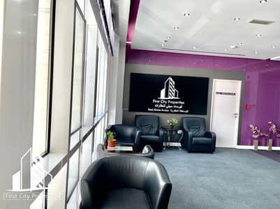 مکتب  للايجار في الحصن، أبوظبي - Magnificent Offices for Rent in Khalidiyah