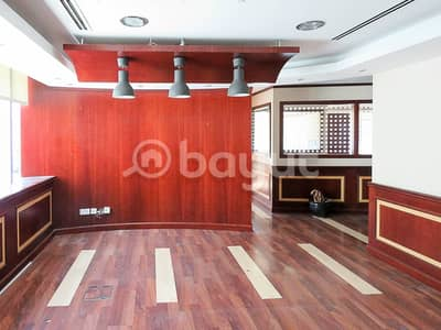 Office for Rent in Al Khabisi, Dubai - Quality Partitioned Offices | Ready to Move - In | Chiller Free