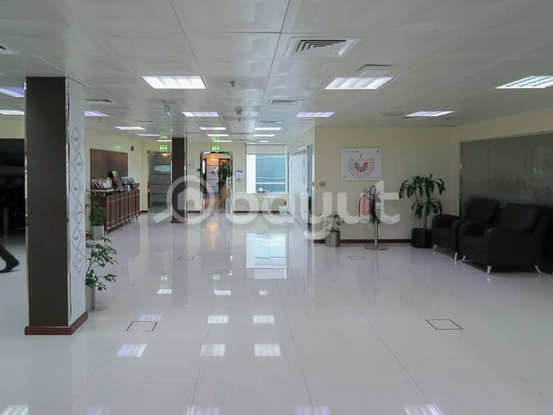 2 Huge  Office Space | Chiller Free | Prime Location