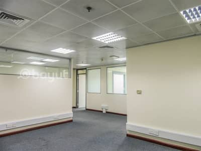 Fully Fitted and Partitioned | Chiller Free | with Nice Exterior View | Port Saeed, Deira