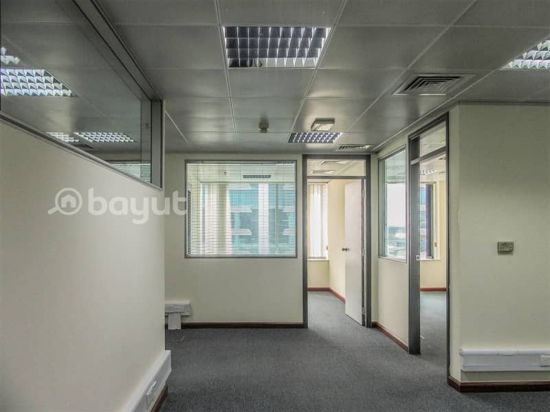 2 Fully Fitted and Partitioned | Chiller Free | with Nice Exterior View | Port Saeed, Deira