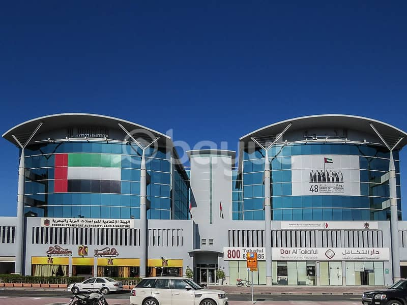 11 Fully Fitted and Partitioned | Chiller Free | with Nice Exterior View | Port Saeed, Deira
