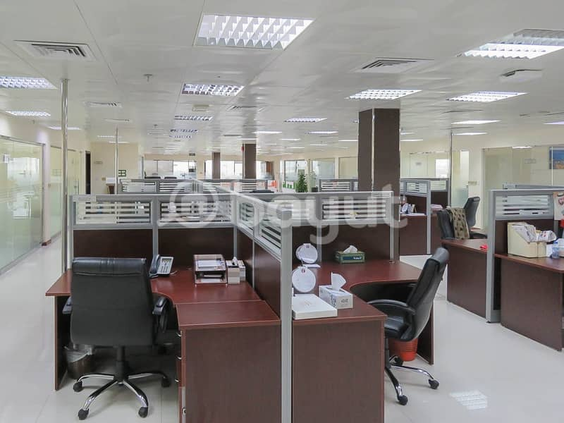 2 Spacious and Excellent Offices ideally suited for Corporate/Head Office Set Up | Chiller Free