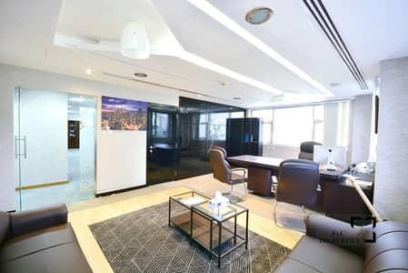مکتب  للبيع في الخليج التجاري، دبي - Fully Furnished Fitted Office | Aspect Tower