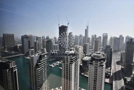 فلیٹ 2 غرفة نوم للبيع في جميرا بيتش ريزيدنس، دبي - High Floor Marina / Partial Sea View 2 BR