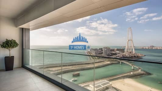 2 Bedroom Flat for Rent in Jumeirah Beach Residence (JBR), Dubai - Panoramic Sea View / Brand New / Luxury Living