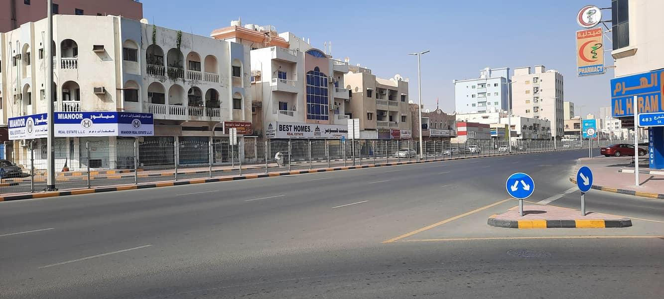 للبيع بناية سكني تجاري النعيمية شارع الكويت مباشرة  موقع ممتاز جدا