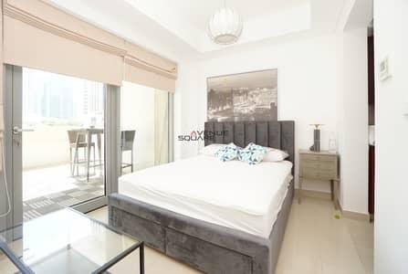 استوديو  للايجار في وسط مدينة دبي، دبي - Exclusive | Studio with new furniture | Chiller free | Boulevard view